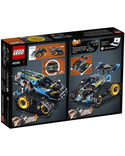 Конструктор Lego Technic - Каскадьорска кола, с дистанционно управление (42095) - 5