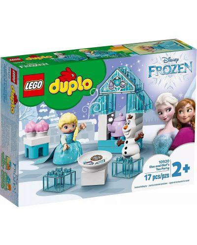 Конструктор Lego Duplo Princess - Чаеното парти на Елза и Олаф (10920) - 1