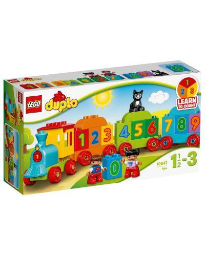 Конструктор Lego Duplo - Влакът на числата (10847) - 1
