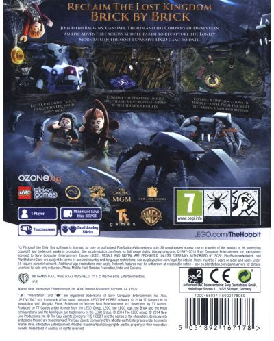 LEGO The Hobbit (Vita) - 3