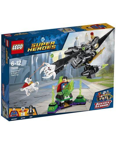 Конструктор Lego Super Heroes - Superman™ & Krypto™ Team-Up (76096) - 1