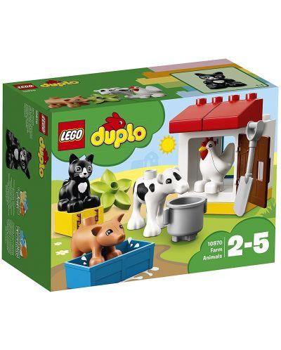 Конструктор Lego Duplo - Животни във ферма (10870) - 1