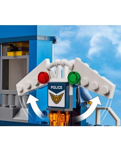 Конструктор Lego City - Полиция в небето, въздушна база (60210) - 1