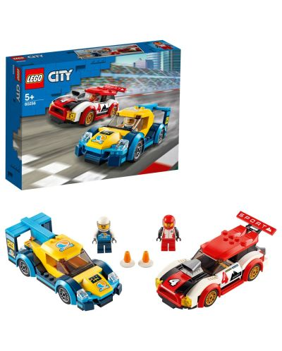 Конструктор Lego City Nitro Wheels - Състезателни коли (60256) - 3