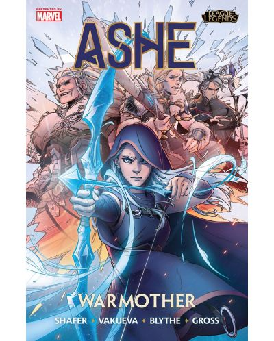 League of Legends. Ashe: Warmother - 1