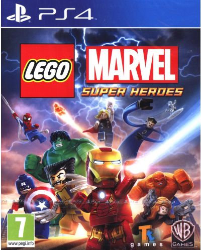 LEGO Marvel Super Heroes (PS4) - 1