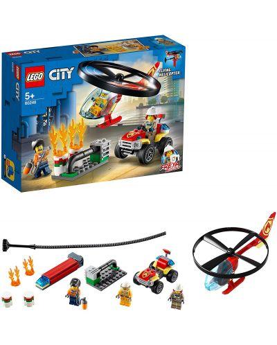 Конструктор Lego City Fire - Реакция с пожарен хеликоптер (60248) - 3