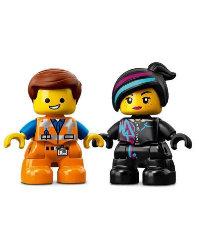 Конструктор Lego Duplo - Посетителите на Емет и Люси от планета DUPLO® (10895) - 4