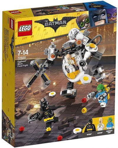 Конструктор Lego Batman Movie - Бой с храна с робота на Яйцето (70920) - 1