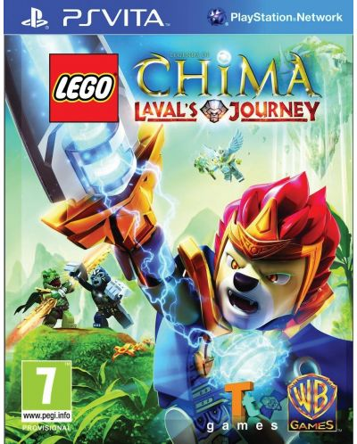 LEGO Legends of Chima: Laval's Journey (Vita) - 1