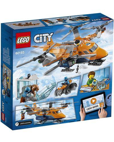 Конструктор Lego City - Арктически въздушен транспортьор (60193) - 6
