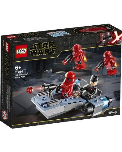Конструктор Lego Star Wars - Боен пакет Sith Troopers (75266) - 1