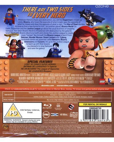 Lego: Justice League Vs Bizarro League (Blu-Ray) - 2