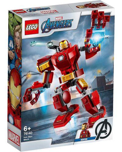 Конструктор Lego Marvel Super Heroes - Iron Man Mech (76140) - 1