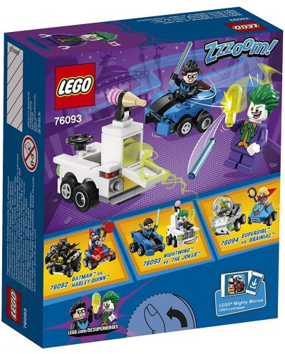 Конструктор Lego Super Heroes - Mighty Micros: Nightwing™ vs. The Joker™ (76093) - 3