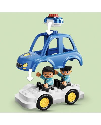 Конструктор Lego Duplo - Полицейски участък (10902) - 5