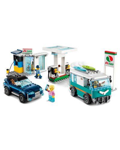 Конструктор Lego City Nitro Wheels - Сервизна станция (60257) - 5