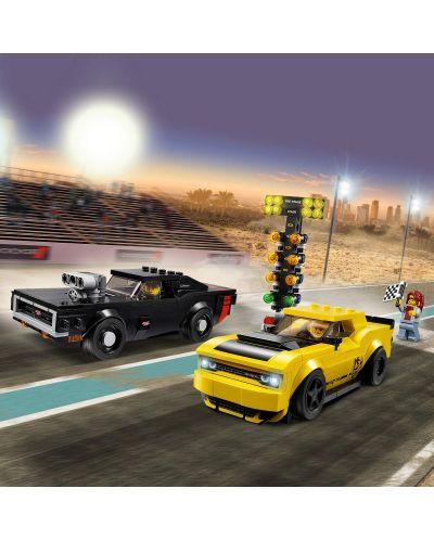 Конструктор Lego Speed Champions - 2018 Dodge Challenger SRT Demon и 1970 Dodge Charger R/T (75893) - 5