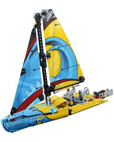 Конструктор Lego Technic - Състезателна яхта (42074) - 7
