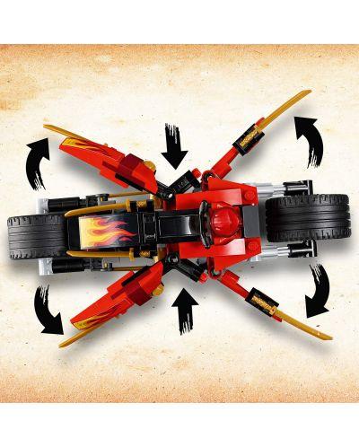 Конструктор Lego Ninjago - Мотоциклетът на Kai и снегомобилът на Zane (70667) - 5
