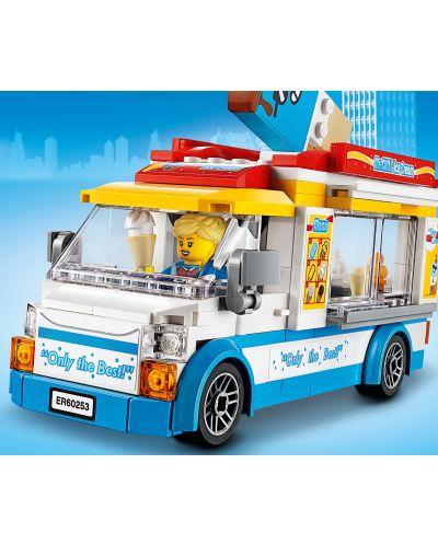 Конструктор Lego City Great Vehicles - Камион за сладолед (60253) - 5