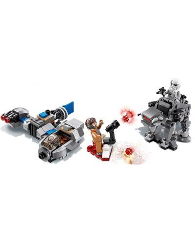 Конструктор Lego Star Wars - Ski Speeder™ vs. First Order Walker™ Microfighter (75195) - 7