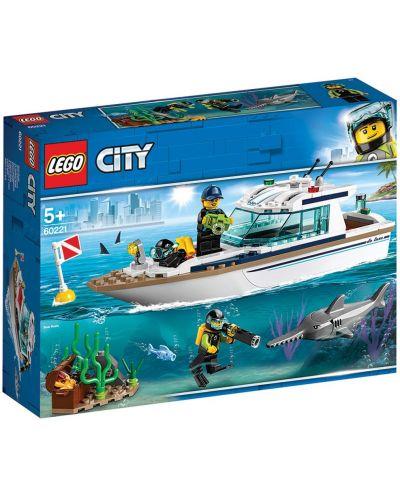 Конструктор Lego City - Яхта за гмуркане (60221) - 8