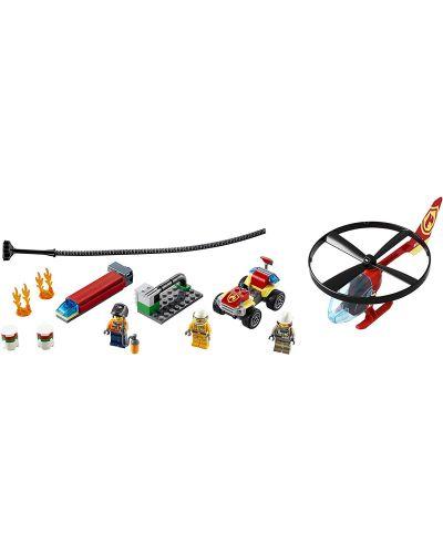 Конструктор Lego City Fire - Реакция с пожарен хеликоптер (60248) - 4