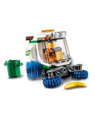Конструктор Lego City Great Vehicles - Машина за метене на улици (60249) - 6
