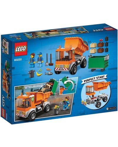 Конструктор Lego City - Боклукчийски камион (60220) - 9