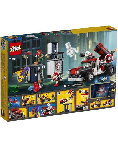 Конструктор Lego Batman Movie - Харли Куин – нападение с гюлета (70921) - 5