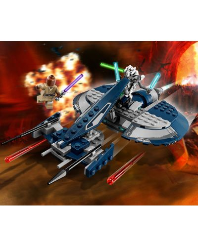 Конструктор Lego Star Wars - Бойният скутер на General Grievous (75199) - 5