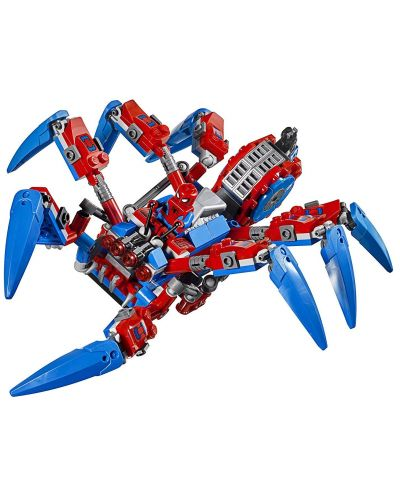 Конструктор Lego Marvel Super Heroes - Машината на Spider-Man (76114) - 7