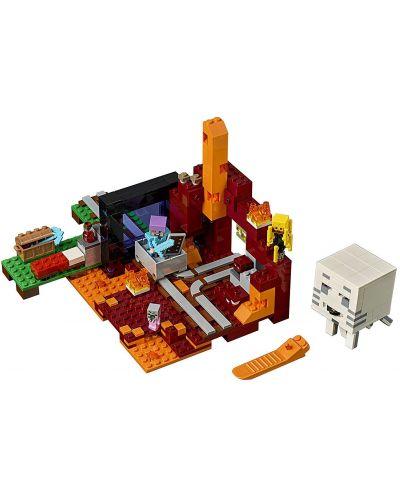 Конструктор Lego Minecraft - Портал към Ада (21143) - 8