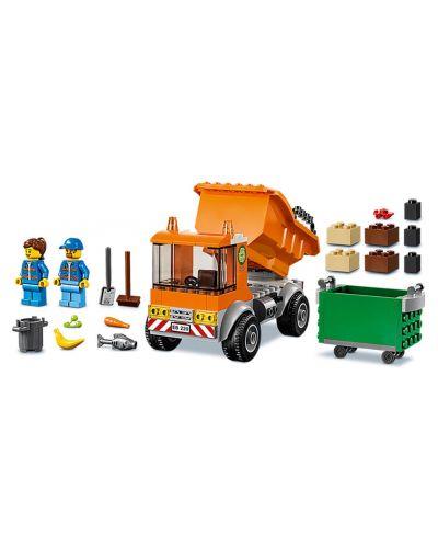 Конструктор Lego City - Боклукчийски камион (60220) - 4