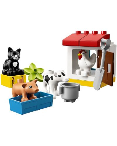 Конструктор Lego Duplo - Животни във ферма (10870) - 5