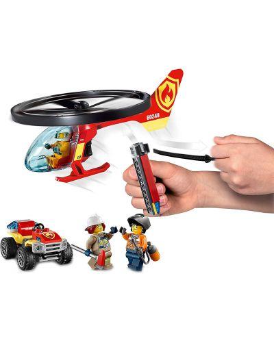 Конструктор Lego City Fire - Реакция с пожарен хеликоптер (60248) - 5