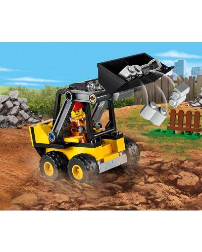 Конструктор Lego City - Строителен товарач (60219) - 1