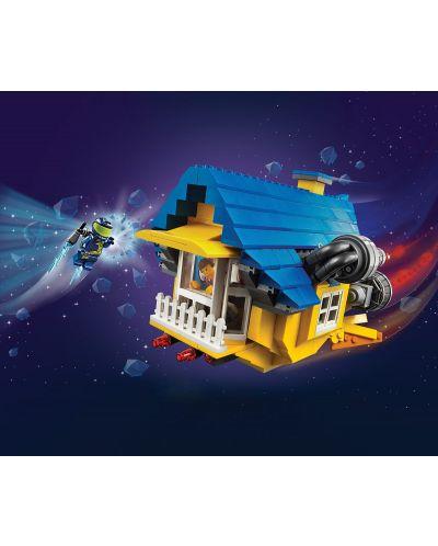 Конструктор Lego Movie 2 - Къща-мечта/ракета за бягство на Емет (70831) - 3