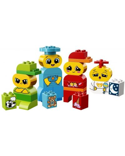 Конструктор Lego Duplo - Моите първи емоции (10861) - 5