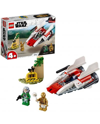 Конструктор Lego Star Wars - Rebel  A-Wing Starfighter (75247) - 7