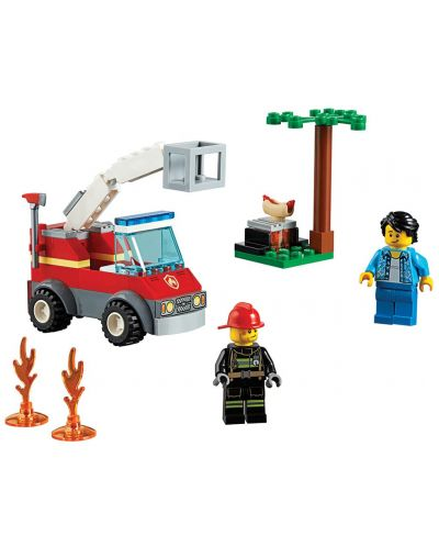 Конструктор Lego City - Изгарящо барбекю (60212) - 8