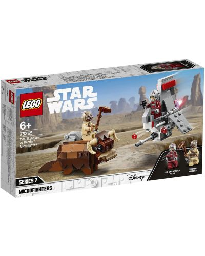 Конструктор Lego Star Wars - T-16 Skyhopper vs Bantha Microfighters (75265) - 1