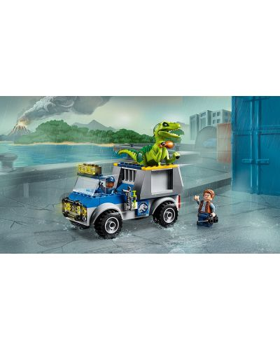 Конструктор Lego Juniors - Спасителен камион за Раптор - 5