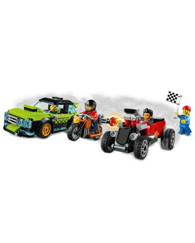 Конструктор Lego City Nitro Wheels - Сервиз за тунинг (60258) - 9