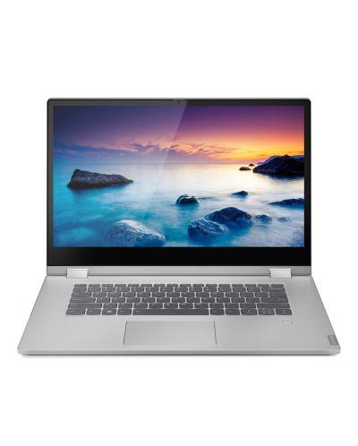 Лаптоп Lenovo IdeaPad - C340-15IML, сребрист - 1