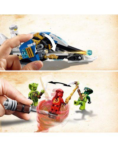 Конструктор Lego Ninjago - Мотоциклетът на Kai и снегомобилът на Zane (70667) - 6