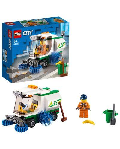 Конструктор Lego City Great Vehicles - Машина за метене на улици (60249) - 3