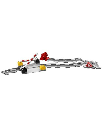 Конструктор Lego Duplo - Релси за влак (10882) - 3