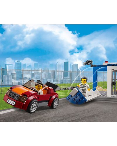Конструктор Lego City - Полиция в небето, въздушна база (60210) - 12
